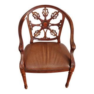 Theodore Alexander Theod Armchair For Sale