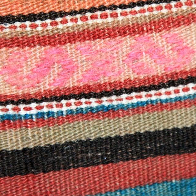 Turkish Handmade Kilim Pillow Cover - Image 6 of 8
