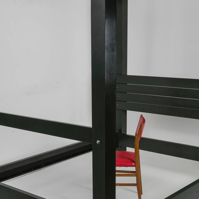 """Metal """"Cilia"""" Double Bed by John Hejduk for Pallucco For Sale - Image 7 of 7"""