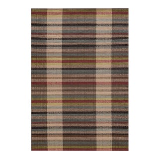 Dash and Albert Swedish Rag Rug- 3′ × 5′ For Sale