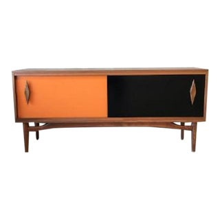 Mid-Century Modern Style Contemporary Credenza For Sale