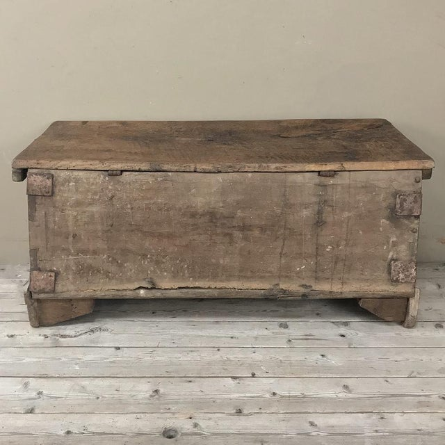 17th Century Spanish Trunk For Sale - Image 11 of 12