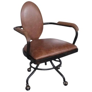 Industrial Style Office Chair For Sale