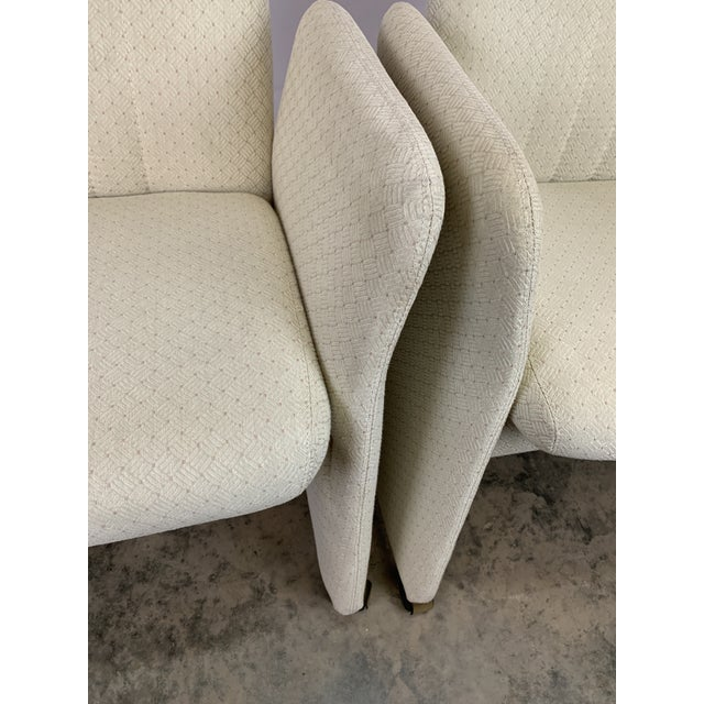 Vladimir Kagan Style Modern Chromcraft Rolling Tilting Club Chairs For Sale In Charlotte - Image 6 of 10