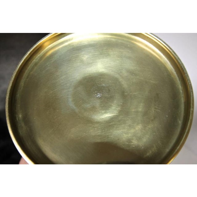 1950s Vintage Tommi Pazinger for Dorlyn Brass Ice/Champagne Bucket For Sale - Image 9 of 11