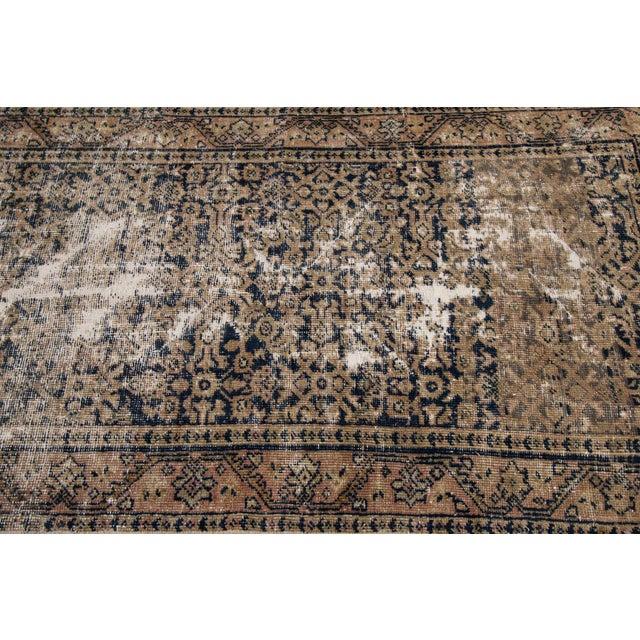 "Apadana-Antique Persian Distressed Rug, 3'0"" X 11'7"" For Sale - Image 9 of 10"