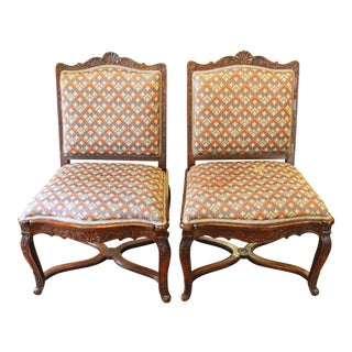 French Side Chairs- A Pair For Sale