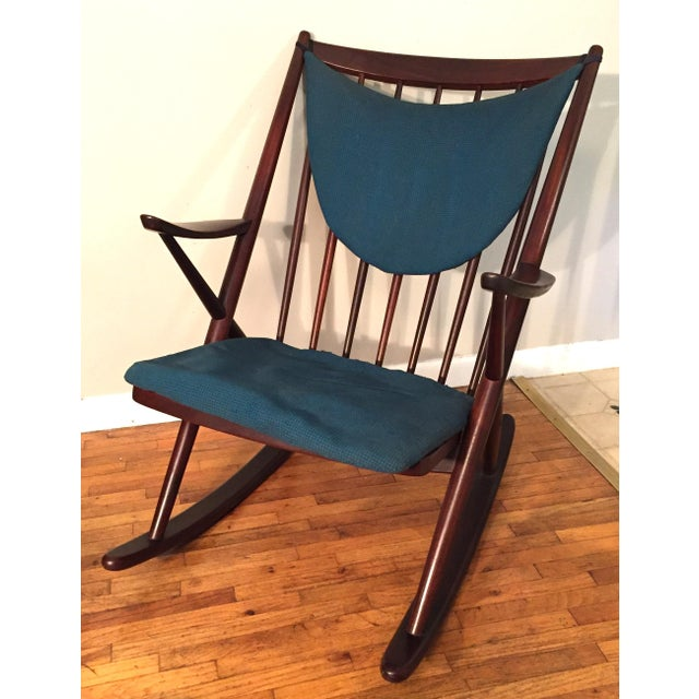 Bramin Mobler Frank Reenskaug Rocking Chair - Image 11 of 11