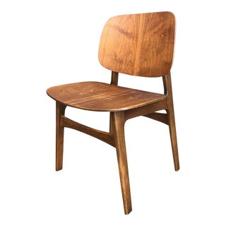 Borge Mogensen Teak Shell Chair For Sale