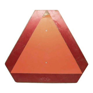 Red & Orange Danger Sign