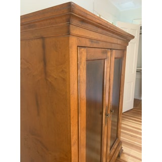 1990s Vintage Baker Furniture Milling Road Armoire Preview