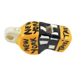 New York Taxi Ceramic Whistle