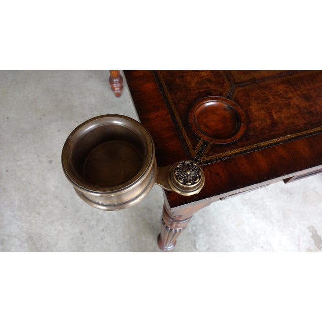 Traditional Maitland-Smith Game Table For Sale - Image 3 of 5