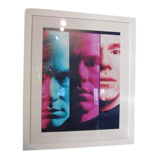 Andy Warhol 1968 Portrait by Philippe Halsman For Sale