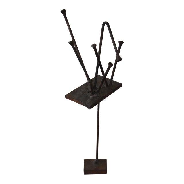 Vintage Original William F. Sellers Sculpture 1960 For Sale