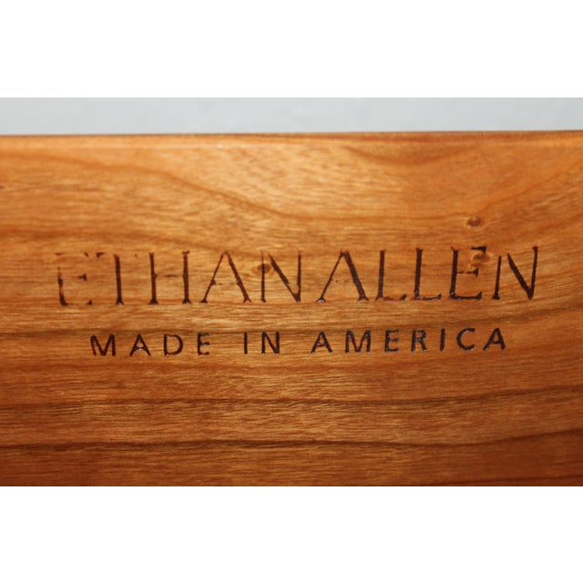 Ethan Allen Ethan Allen Cherry Wood Armoire For Sale - Image 4 of 5