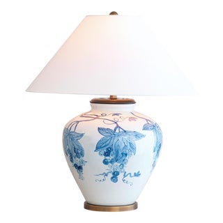 Napa Blue Lamp For Sale
