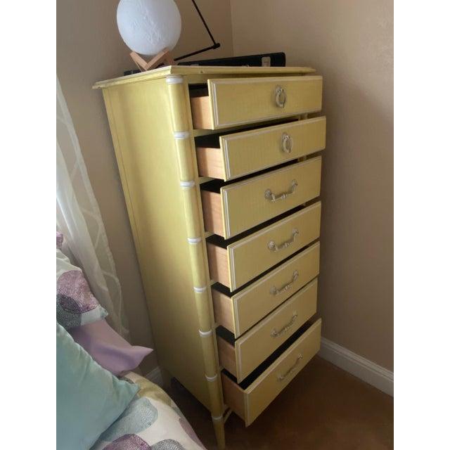 French 1970s Vintage Thomasville Lingerie Dresser For Sale - Image 3 of 11