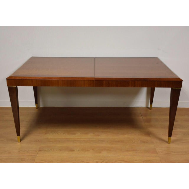 Mahogany Henredon Dining Table & Chairs - Image 2 of 11