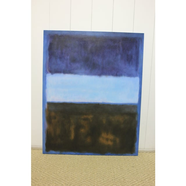 Mark Rothko Inspired Painting For Sale - Image 4 of 4