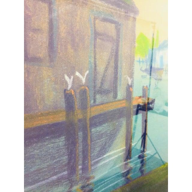 Original Framed Coastal Seascape Painting For Sale - Image 9 of 11