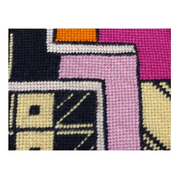Framed Needlepoint Textile, Dated 1972 - Image 5 of 10