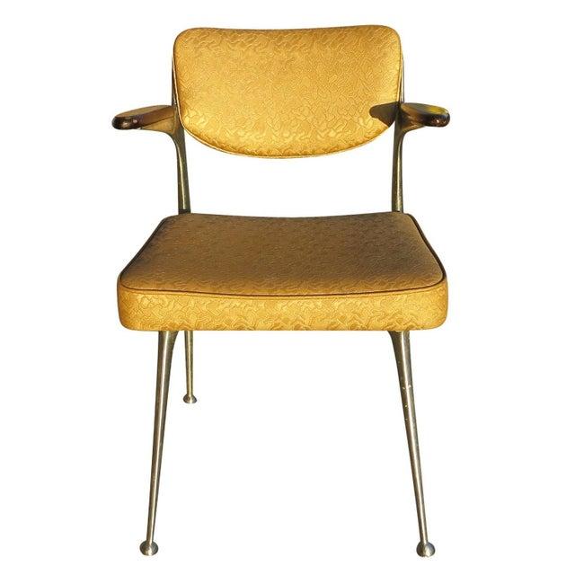 Aluminum Gazelle Armchairs- Set of 4 - Image 3 of 8