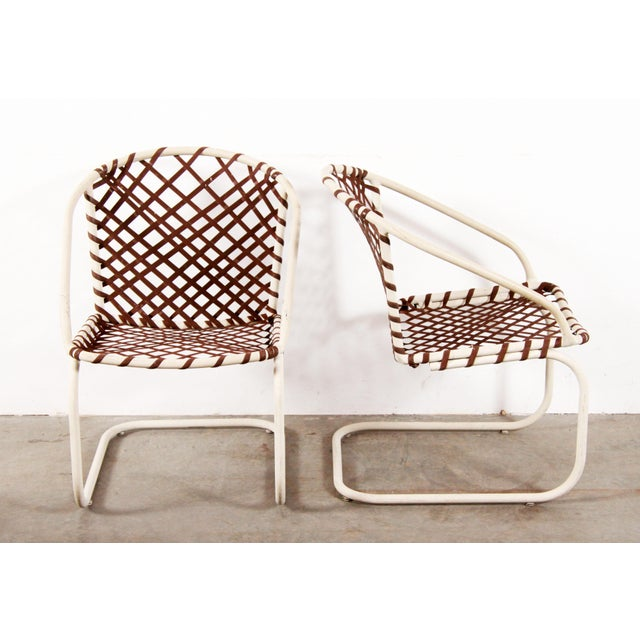 Mid Century Modern Brown Jordan 6pc Patio Dining Chairs - Set of 6 For Sale In Providence - Image 6 of 12