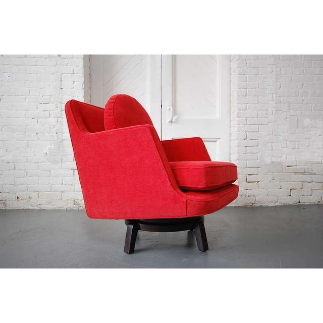 Dunbar Swivel Chair Designed by Edward Wormley For Sale - Image 10 of 10