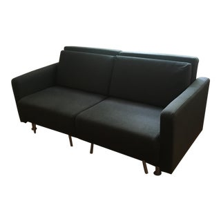 BoConcept Melo 2 Dark Charcoal Fabric Reclining Sleeper Sofa For Sale