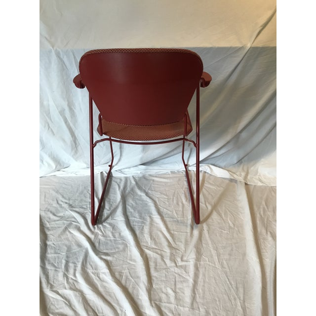 KI Industry 'Perry' Sled Ergonomic Arm Chair - Image 5 of 9