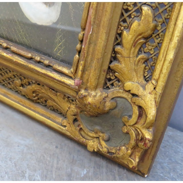 Renaissance Decorative Period Framed Portrait Print of Jane Seymour, Wife of Henry VIII For Sale - Image 4 of 7