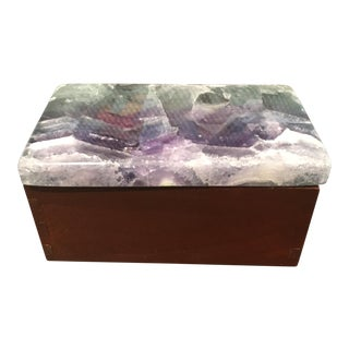Stone Onyx Top Box For Sale