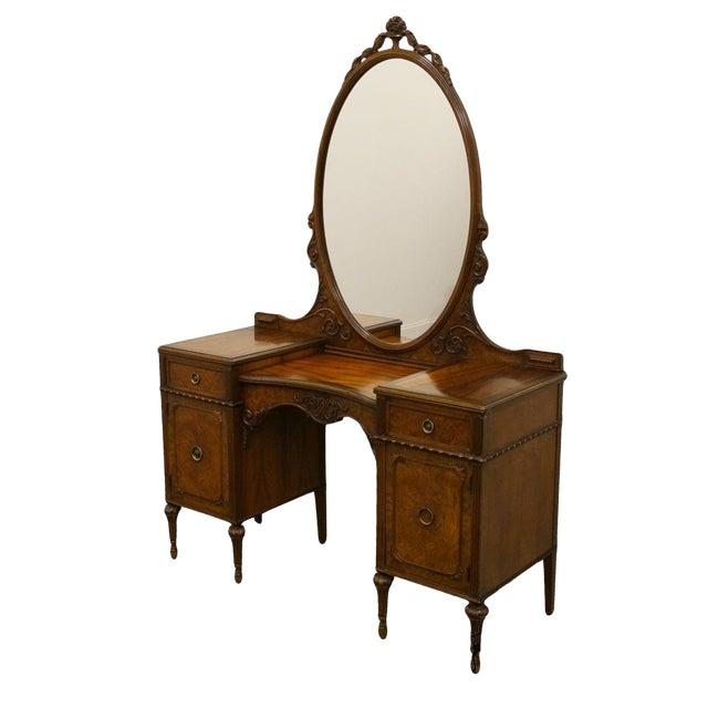 Refinished Antique Berkey Gay dresser with mirror in 2019