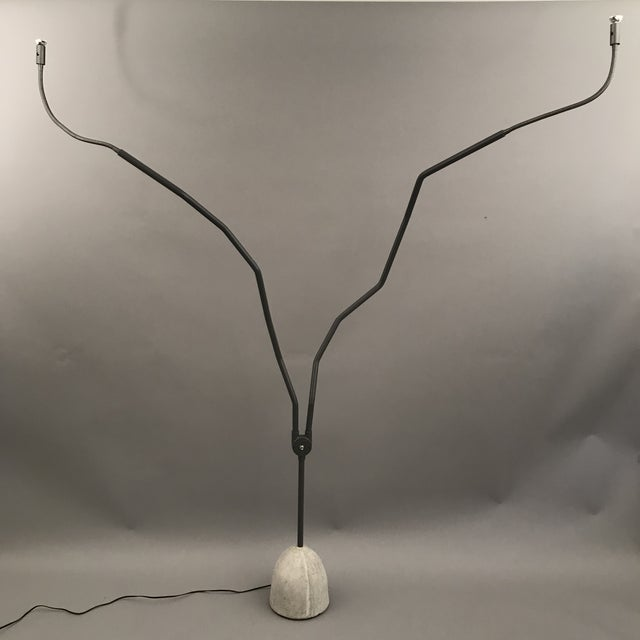 Concrete Tree Tops Floor Lamp For Sale - Image 7 of 7