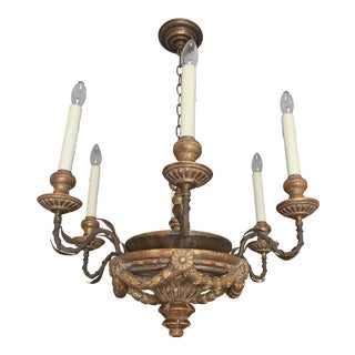 Late 20th Century Holly Hunt Firenze Chandelier by Dennis & Leen For Sale