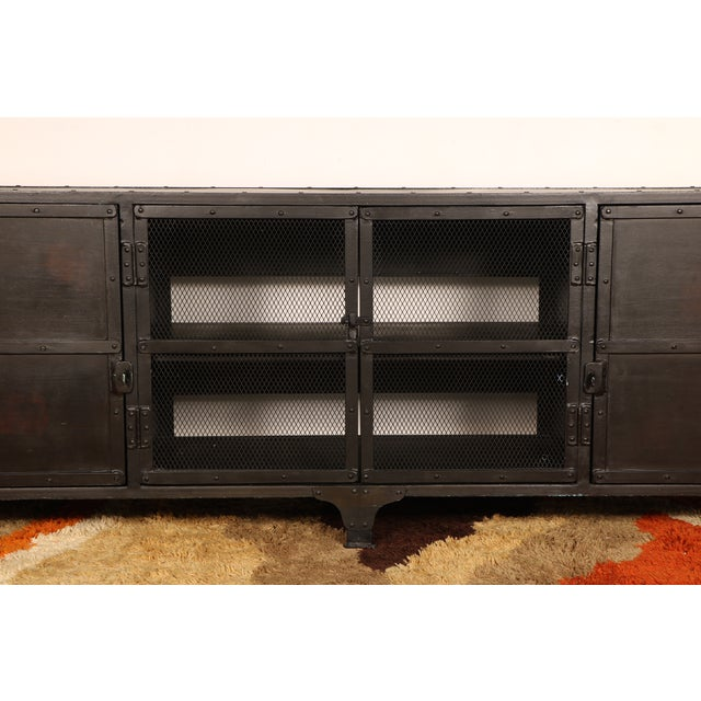 Industrial Iron Cabinet - Image 4 of 10