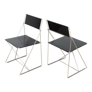 Niels Jorgen Haugesen Stacking Chairs- X Line for Magis For Sale