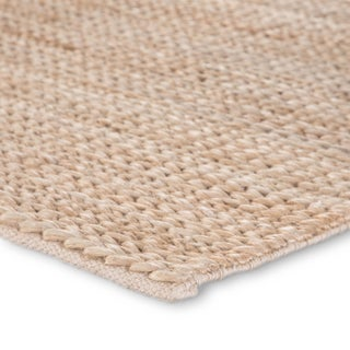 Jaipur Living Poncy Natural Solid Tan Area Rug - 2'x3' Preview
