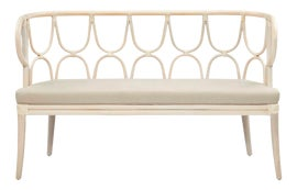 Image of Newly Made Rattan Benches