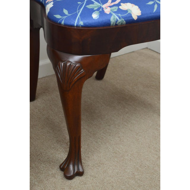 Red Councill Set of 6 Mahogany Dining Chairs For Sale - Image 8 of 13