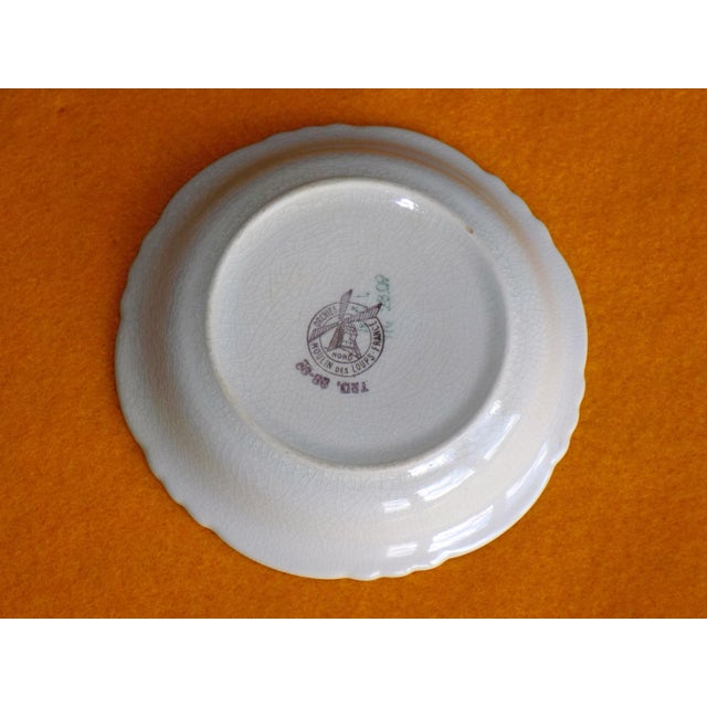 Vintage French Veuve Clicquot Plate - Image 4 of 8