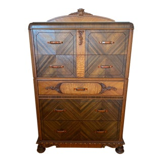Early 1900s Art Deco Dresser For Sale