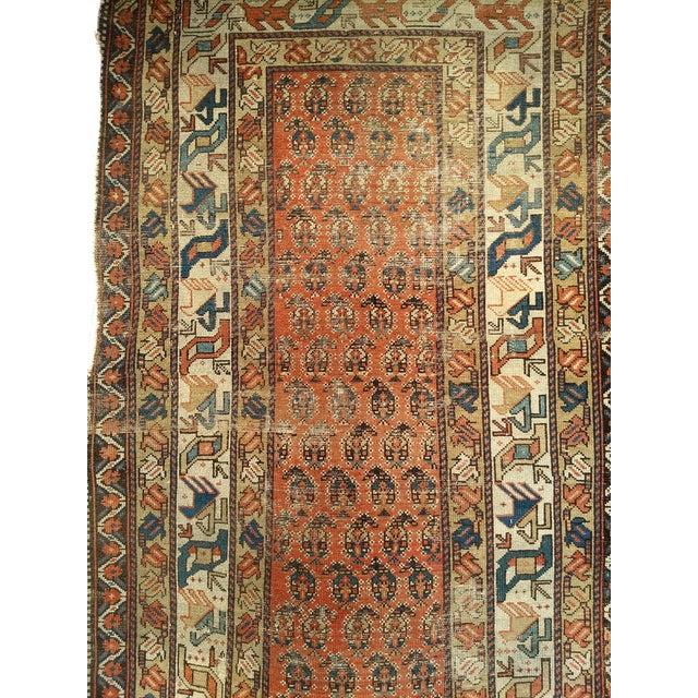 19th Century Kazak Rug 3′1″ × 5′6″ For Sale - Image 9 of 13