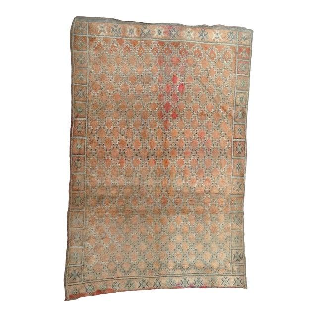 Beni Mguild Vintage Moroccan Rug - 6′3″ × 9′5″ For Sale