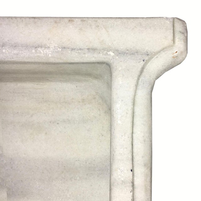 Antique Marble Corner Sink | Reclaimed Marble Basin - Image 5 of 5