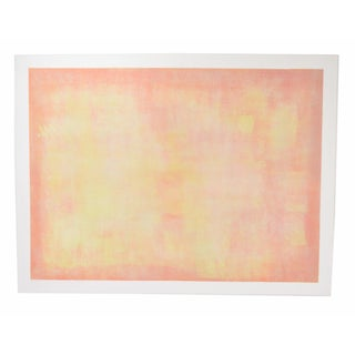 1978 Abstract Expressionist L/E Lithograph by Robert Natkin For Sale