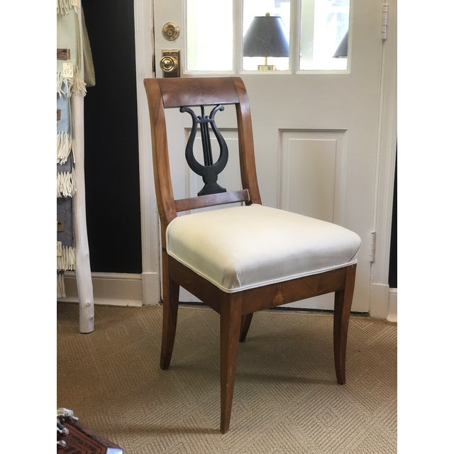 Wood Early 19th Century Cherry Wood Biedermeier Chair For Sale - Image 7 of 7