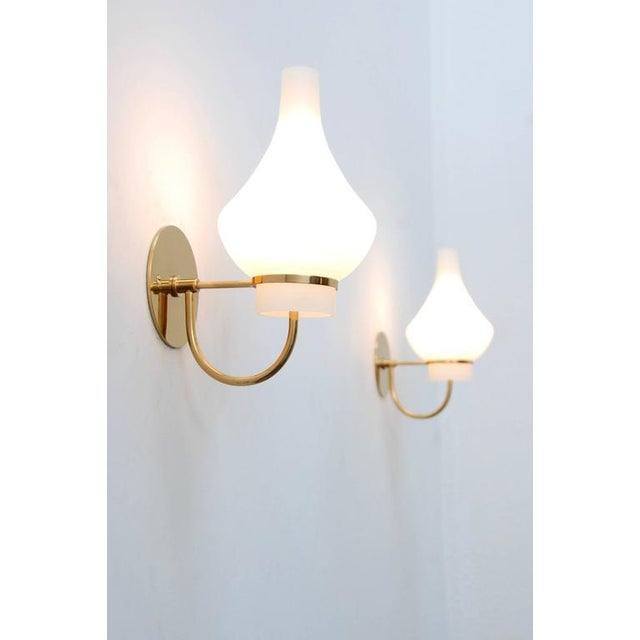 Modern Italian 1950s Sconces - Image 3 of 9