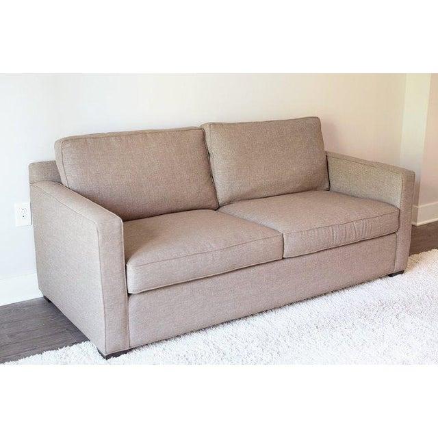 Crate & Barrel Davis Apartment Sofa - Image 2 of 5